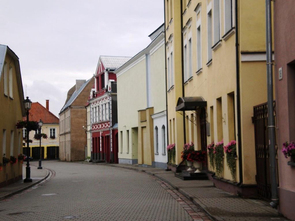 Kėdainių senamiesčio gatvelė