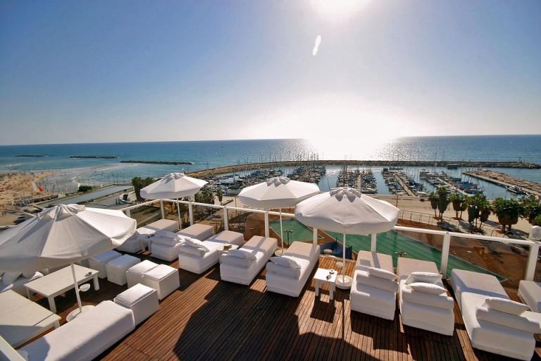 Tel Avivo viešbučių vaizdai