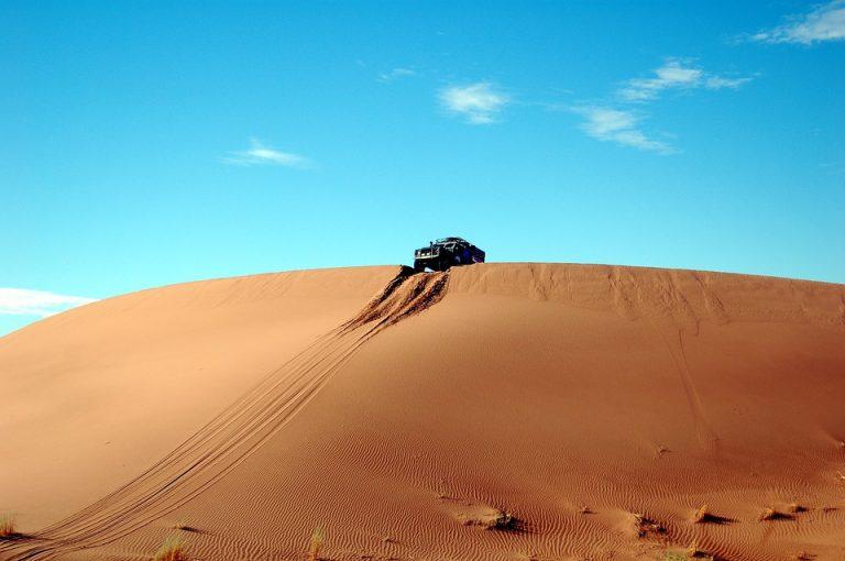 Dykumų safaris Maroke