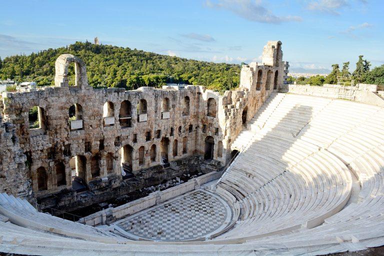 Žymieji Antikos statiniai Atėnuose