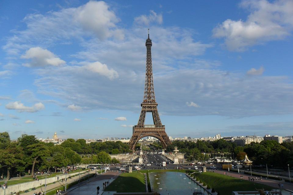 Paryžius - Eifelio bokštas