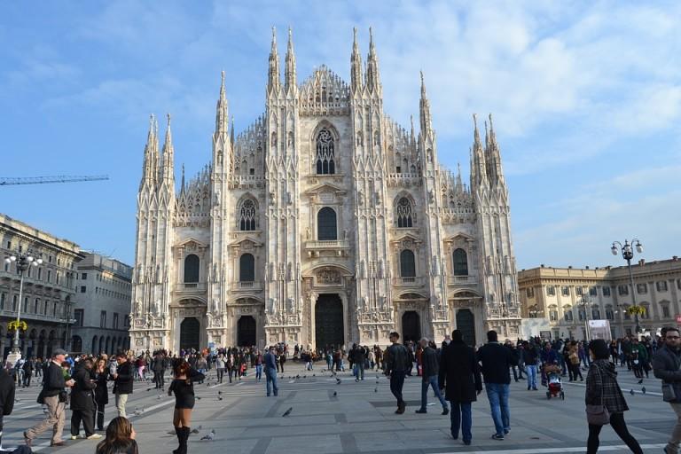 Milano katedra