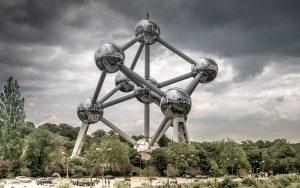 Atomiumas - bene žymiausias statinys Belgijoje