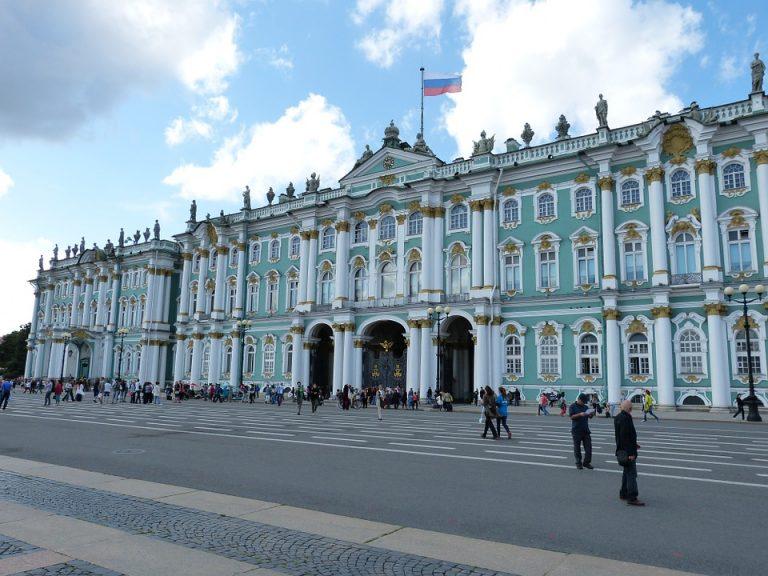 Ermitažas Sankt Peterburge