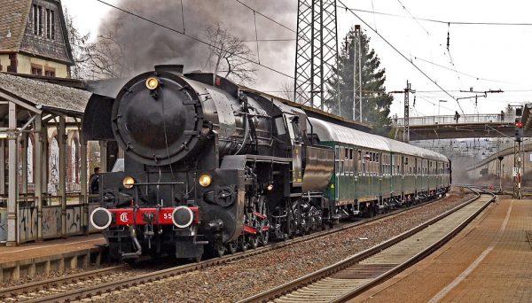 Garinis traukinys Liuksemburge