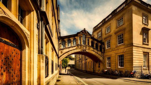 Senos Oksfordo gatvelės