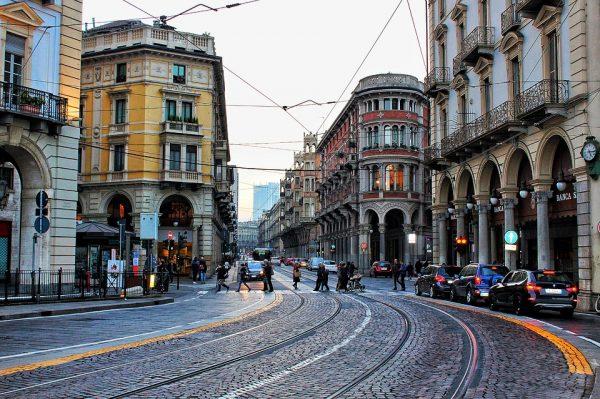Turino akmenuotos gatvelės