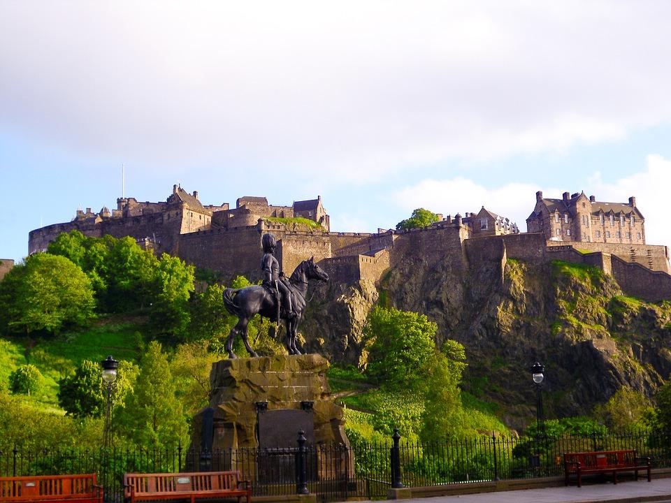Edinburgas – lankytinos vietos