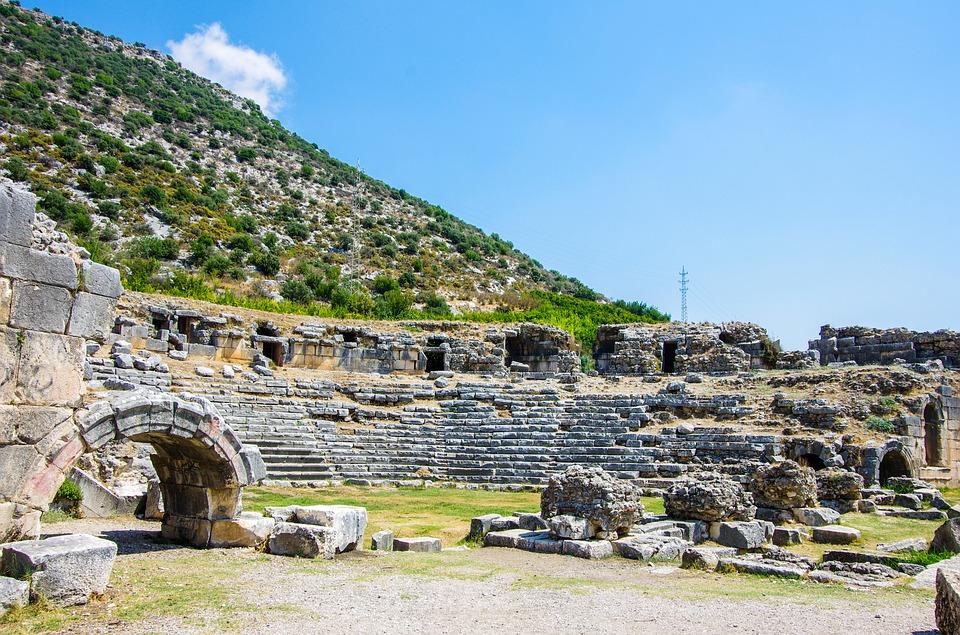Lankytini objektai Antalijoje