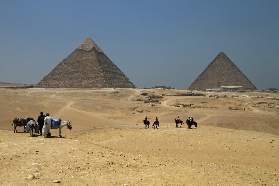 Kairo piramidės