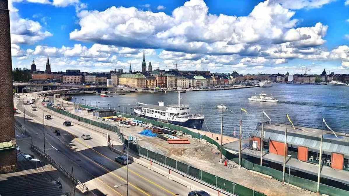 Stokholmas - miestas ant vandens