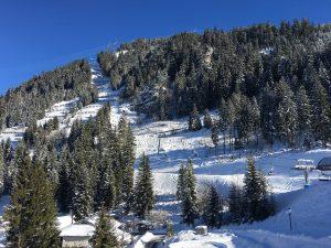 Slidinėjimas Šveicarijoje
